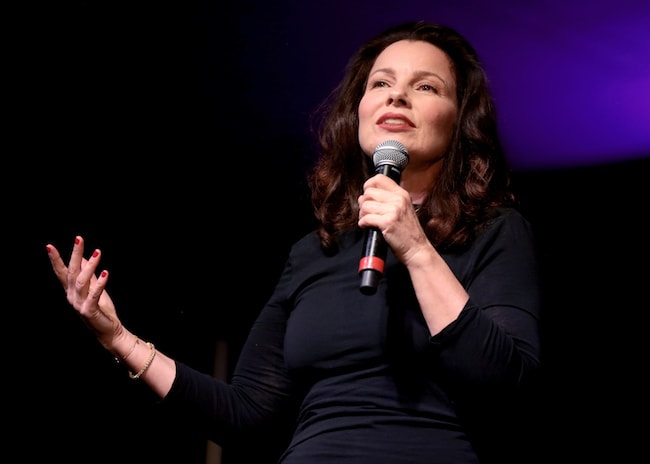 Fran Drescher at the 2018 Arizona Ultimate Women's Expo in 2018