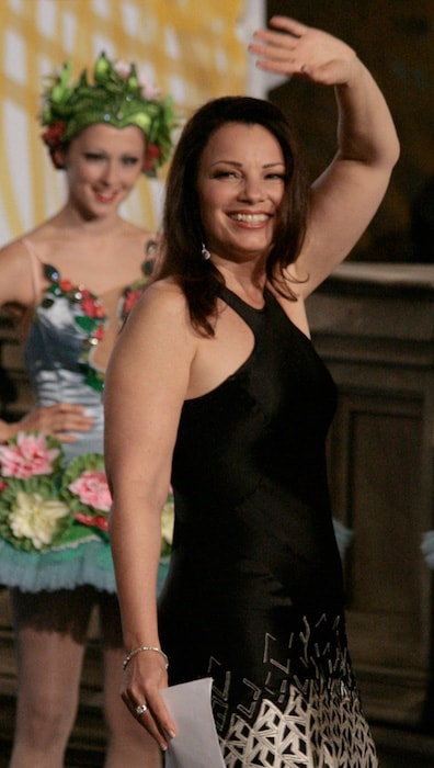 Fran Drescher at the Life Ball 2009 in Rathaus, Vienna