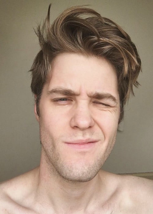 Garrett Watts in an Instagram selfie as seen in January 2017
