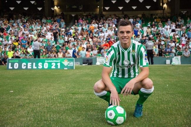 Giovani Lo Celso in Seville, Spain in September 2018