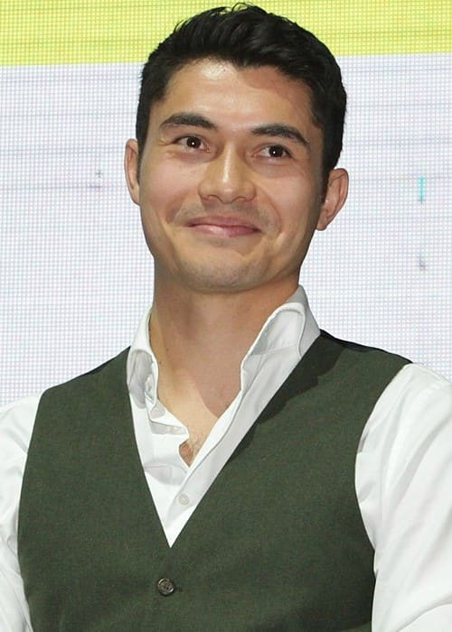 Henry Golding as seen in April 2014