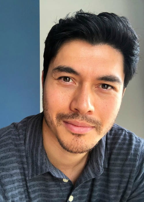 Henry Golding in an Instagram post as seen in May 2018