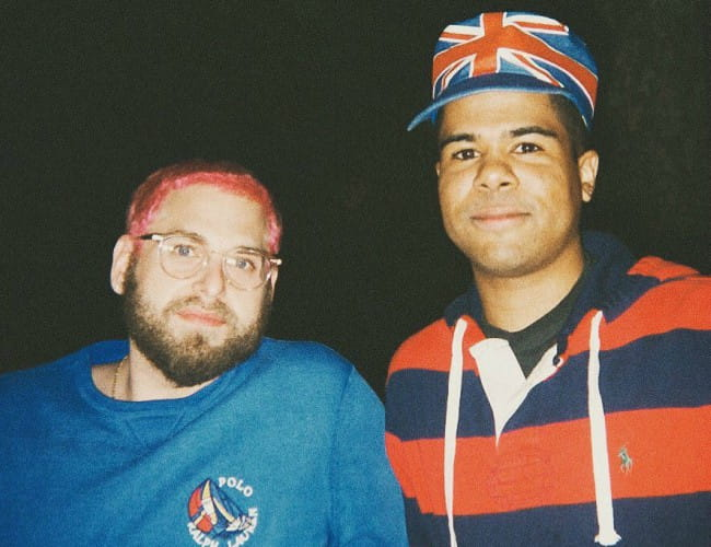 ILoveMakonnen and Jonah Hill as seen in June 2018