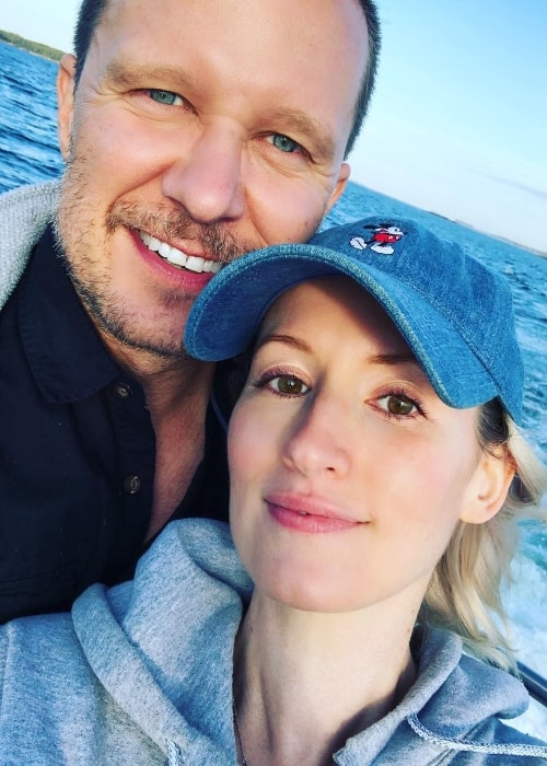 Ingrid Michaelson in a selfie with Will Chase in July 2018