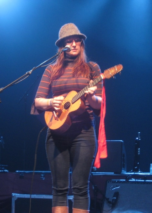 Ingrid Michaelson performing at Fryshuset, Stockholm in September 2008
