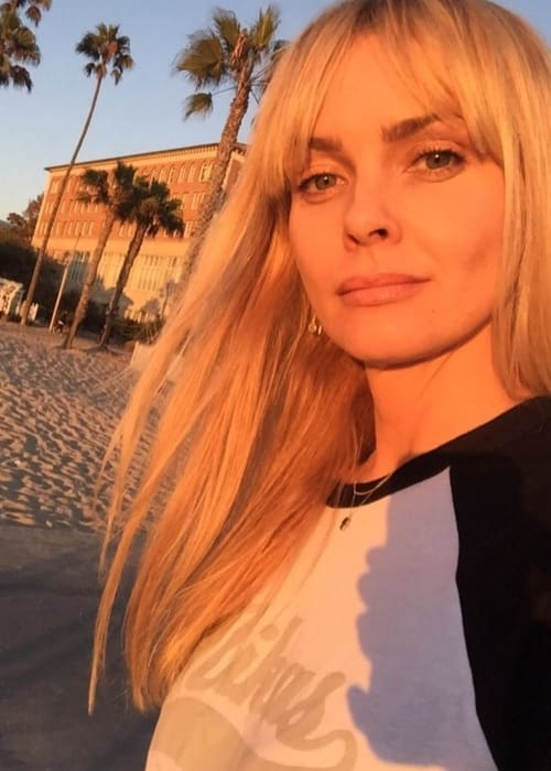 Izabella Scorupco in a selfie as seen in August 2016