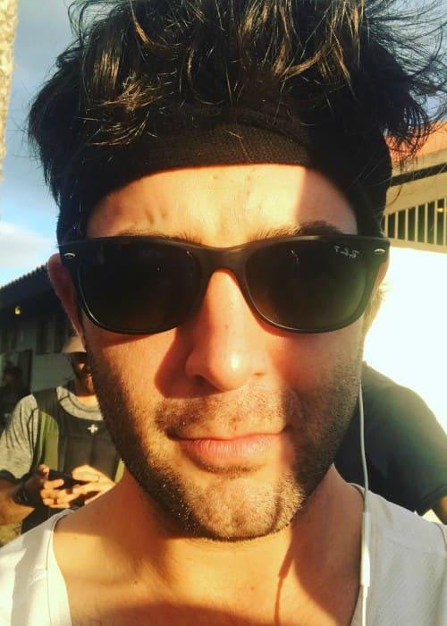James Wolk in a selfie as seen in November 2017
