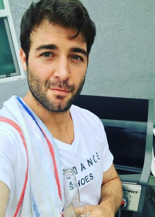 James Wolk in an Instagram selfie as seen in July 2017