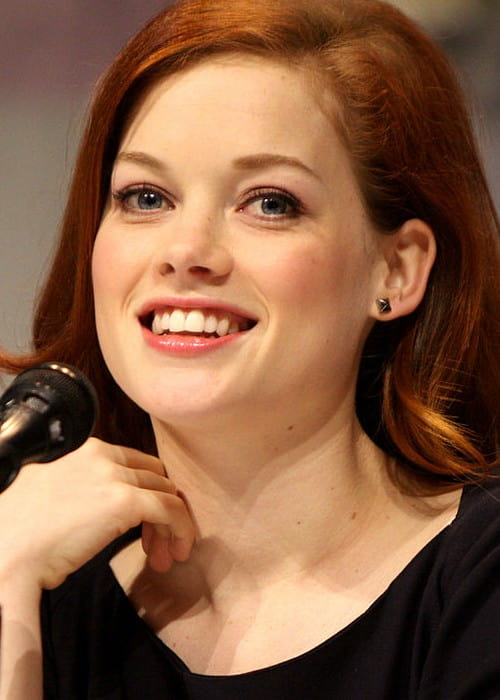 Jane Levy speaking at the 2013 WonderCon