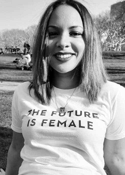 Jasmine Cephas Jones in an Instagram post as seen in April 2018