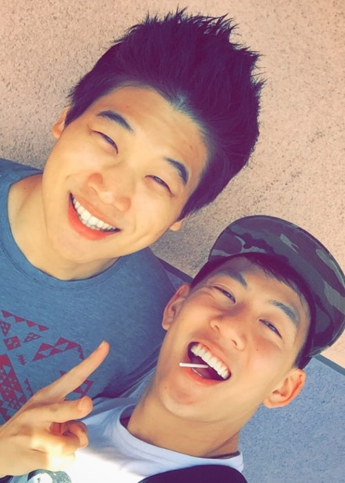 Jason Rod (Right) with Ki Hong Lee in May 2016