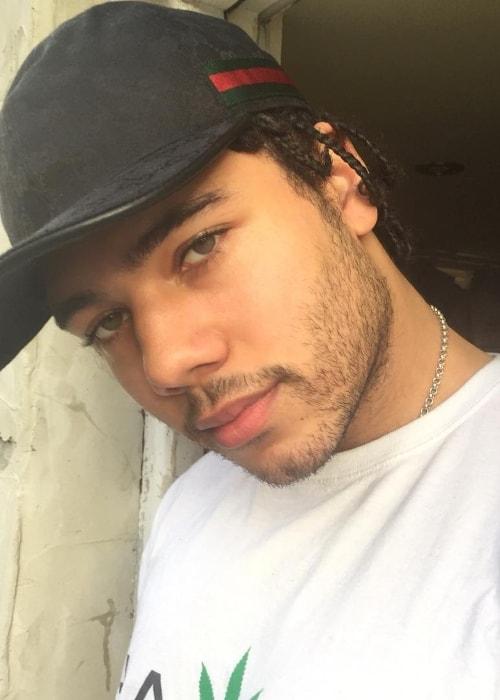 Joel Compass in a selfie in January 2018