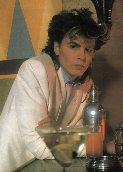 John Taylor looks dapper in the photoshoot