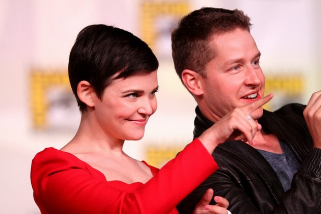 Josh Dallas and Ginnifer Goodwin at the 2012 San Diego Comic-Con International