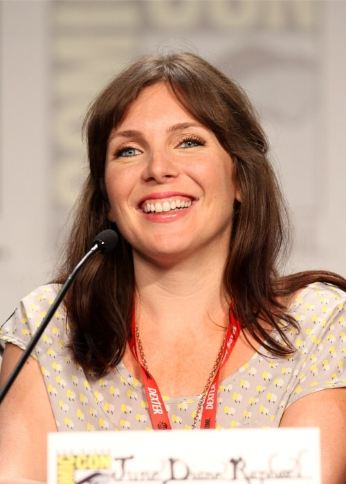 June Diane Raphael as seen at the San Diego Comic-Con International in July 2011