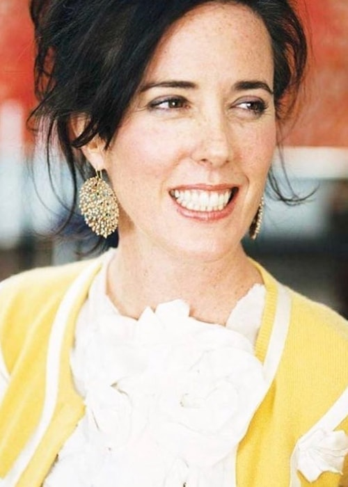 Kate Spade with her contagious smile