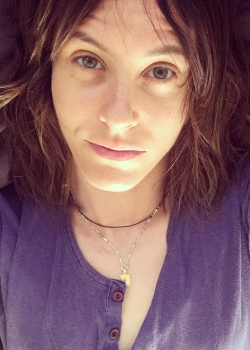 Katherine Moennig in an Instagram selfie as seen in October 2017
