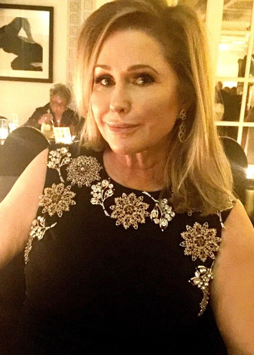 Kathy Hilton as seen in April 2017