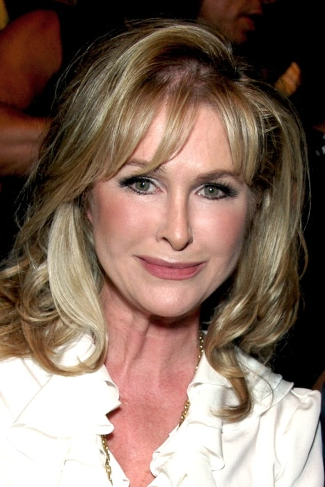 Kathy Hilton at Nicky Hilton's Fashion Show in Smashbox Studios, California in March 2008