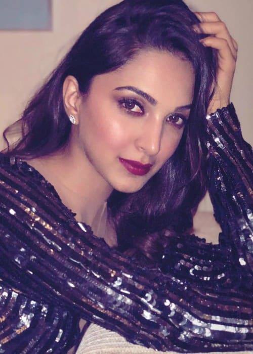 Kiara Advani in an Instagram post as seen in June 2018