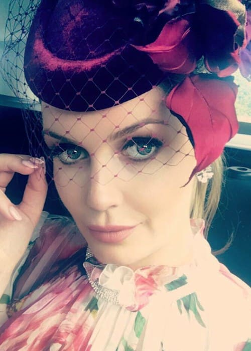 Lady Kitty Spencer in a selfie in June 2018