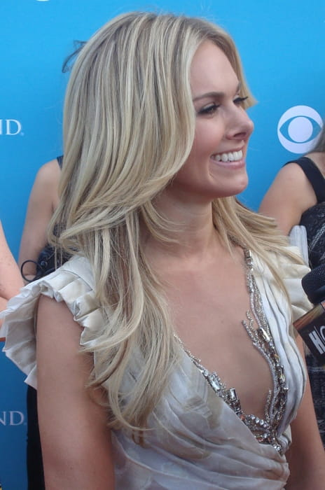 Laura Bell Bundy at the 45th Annual Academy of Country Music Awards in April 2010