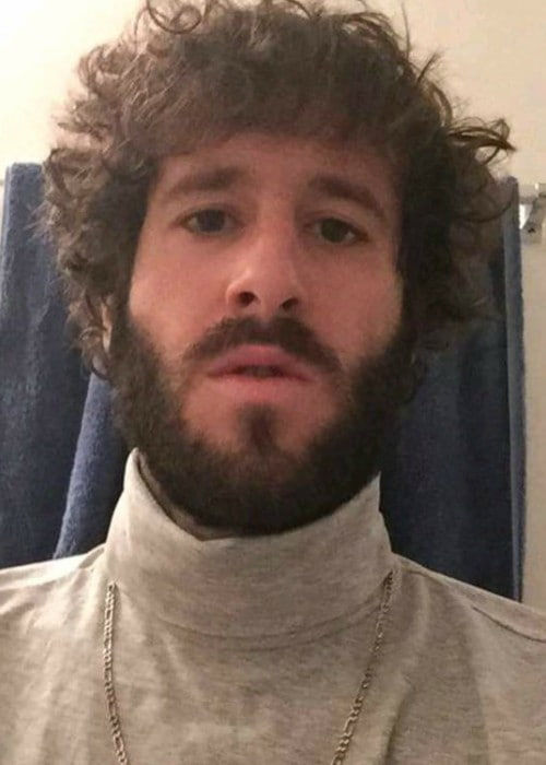 Lil Dicky in an Instagram selfie as seen in January 2017