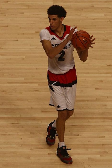 Lonzo Ball at the 2016 McDonald's All American Boys Game