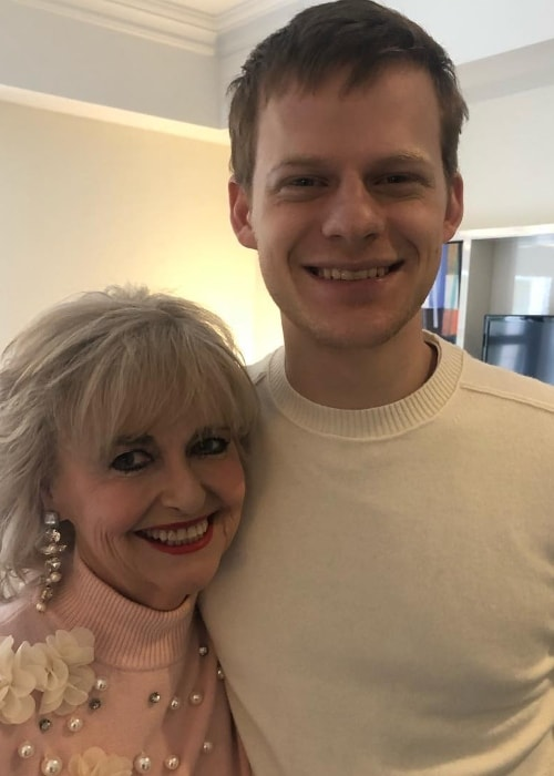 Lucas Hedges with Martha Jr Conley