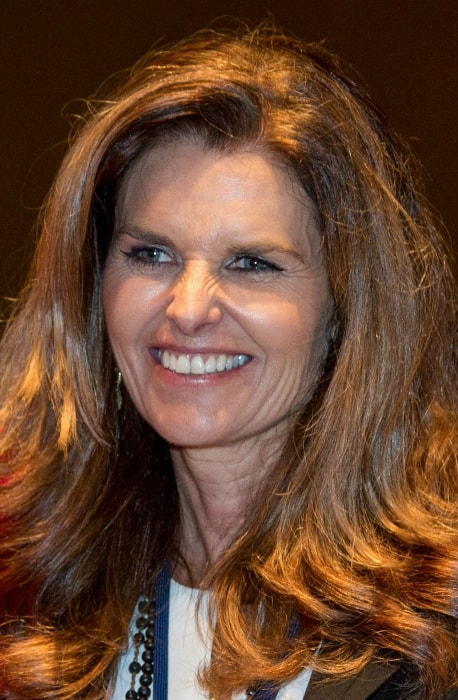 Maria Shriver as seen at the Civil Rights Exhibit at the LBJ Presidential Library in April 2014
