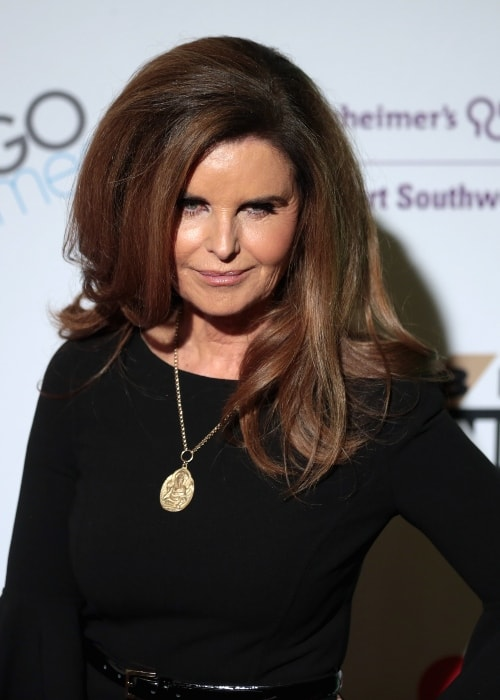 Maria Shriver on the red carpet at Celebrity Fight Night XXIV in March 2018