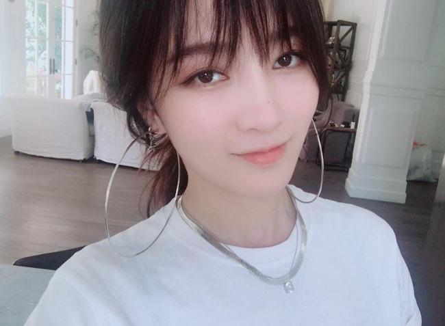 Meng Jia in a selfie in September 2017