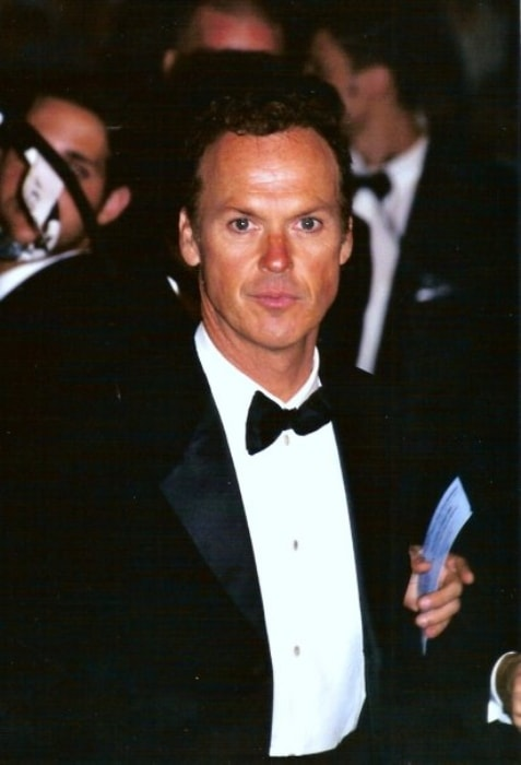Michael Keaton at Cannes Film Festival in 2002