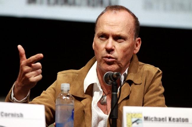 Michael Keaton speaking at 2013 San Diego Comic-Con International