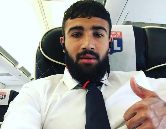 Nabil Fekir in a selfie in August 2016