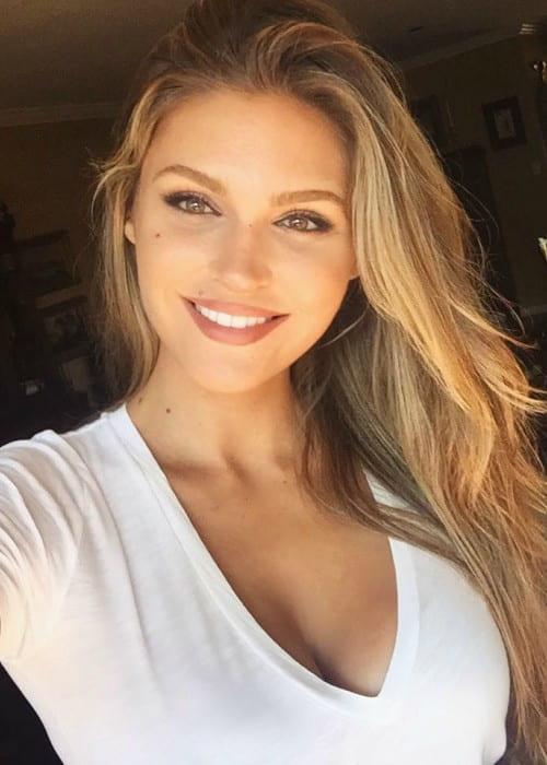 Natalie Pack in a selfie in August 2016