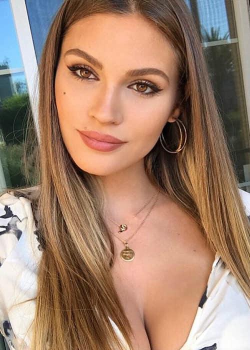 Natalie Pack in an Instagram selfie as seen in March 2018