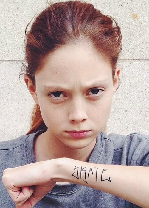Natalie Westling in an Instagram post as seen in September 2014