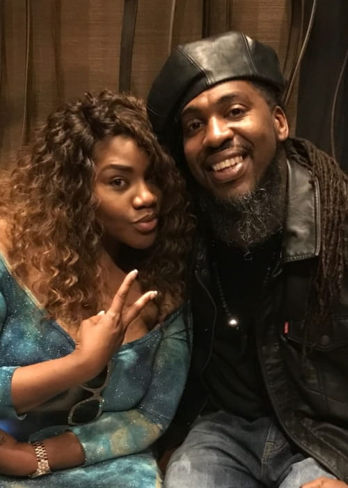 Pastor Troy and Kelly Price as seen in April 2018