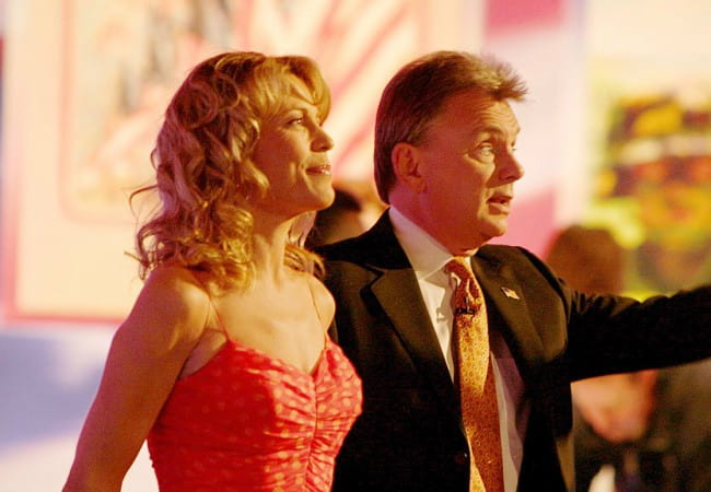 Pat Sajak and Vanna White as seen in 2006