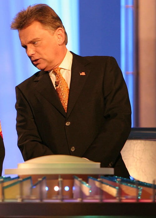 Pat Sajak at Sony Entertainment Studios as seen in February 2006