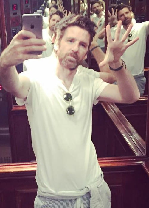 Paul Anderson in a selfie as seen in August 2016