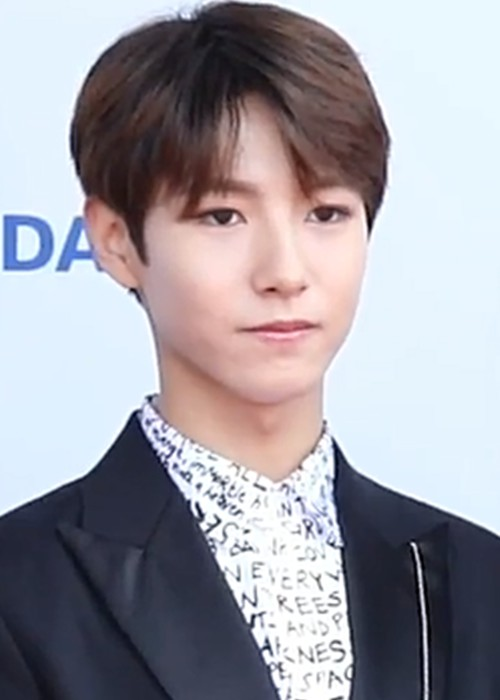 Renjun during an interview on the red carpet of the 24th Dream Concert in May 2018