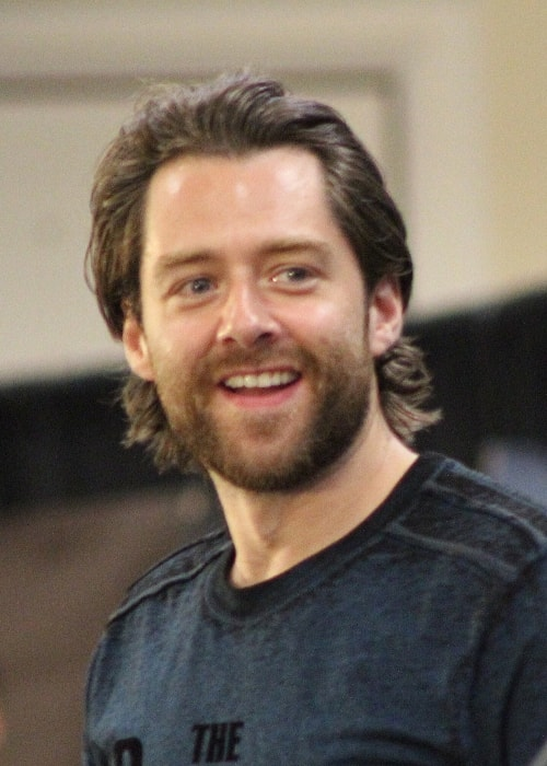 Richard Rankin as seen at the Creation Entertainment Outlander Convention in Las Vegas, Nevada