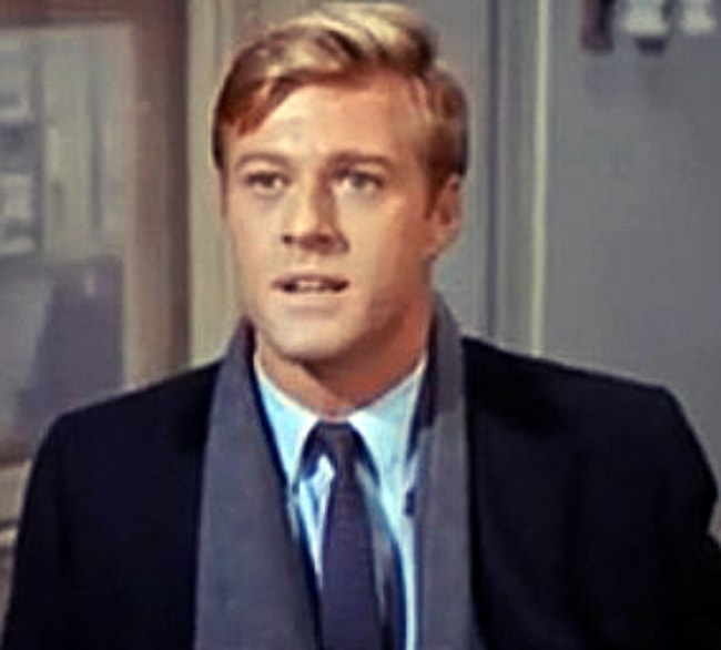 Robert Redford as seen in a still from the movie Barefoot in the Park (1967)