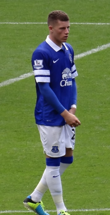 Ross Barkley as seen in August 2013