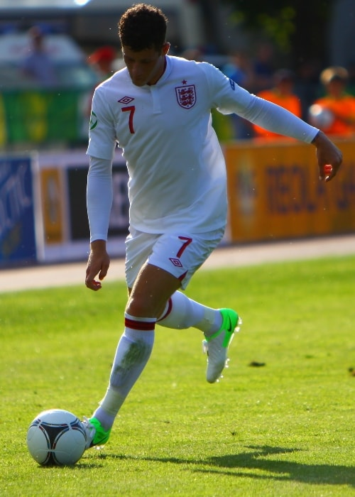 Ross Barkley during the U-19 Croatia vs England match in July 2012