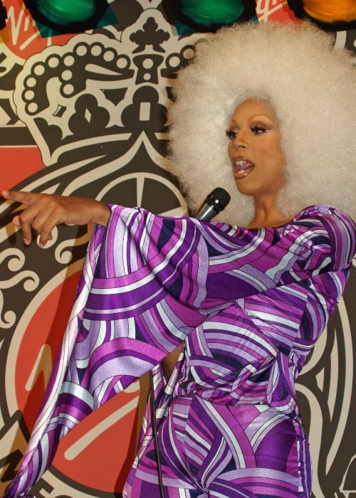 RuPaul as see at a party for the launch of his 'Starrbooty' DVD in October 2007