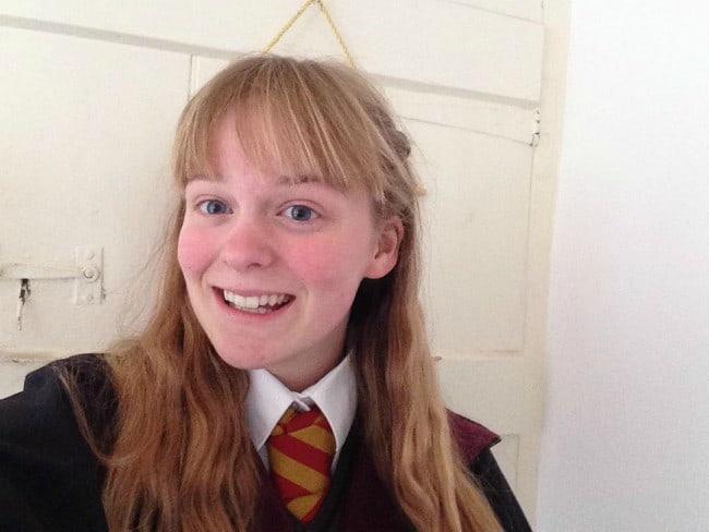 Ruby Granger in a selfie in October 2017