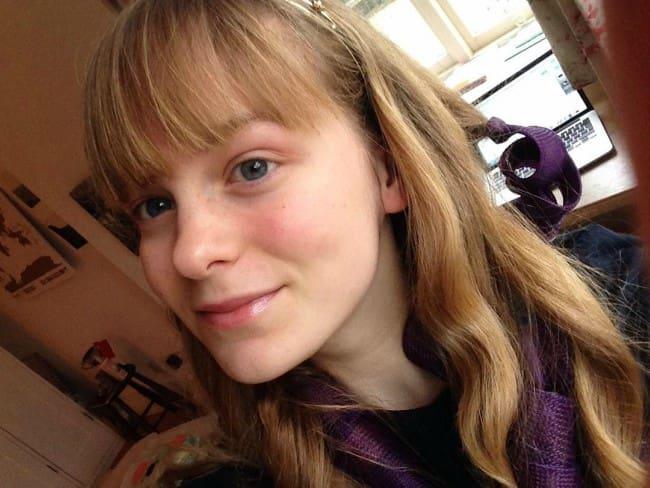 Ruby Granger in an Instagram selfie as seen in March 2017